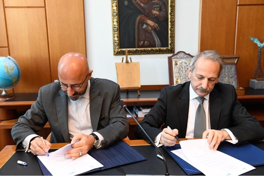 NDU Signs MoU with IRI 41