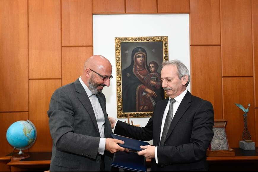 NDU Signs MoU with IRI 42