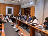 New Alumni Association Board Meets with NDU President 2