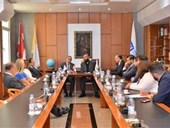 New Alumni Association Board Meets with NDU President 5