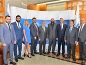 New Alumni Association Board Meets with NDU President 6