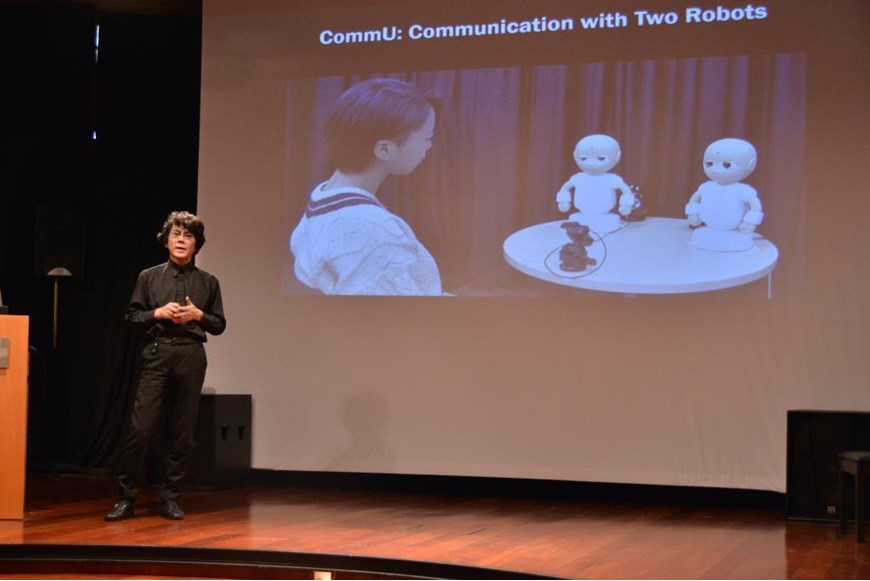 Robots And Our Future Life By Professor Hiroshi Ishiguro 20