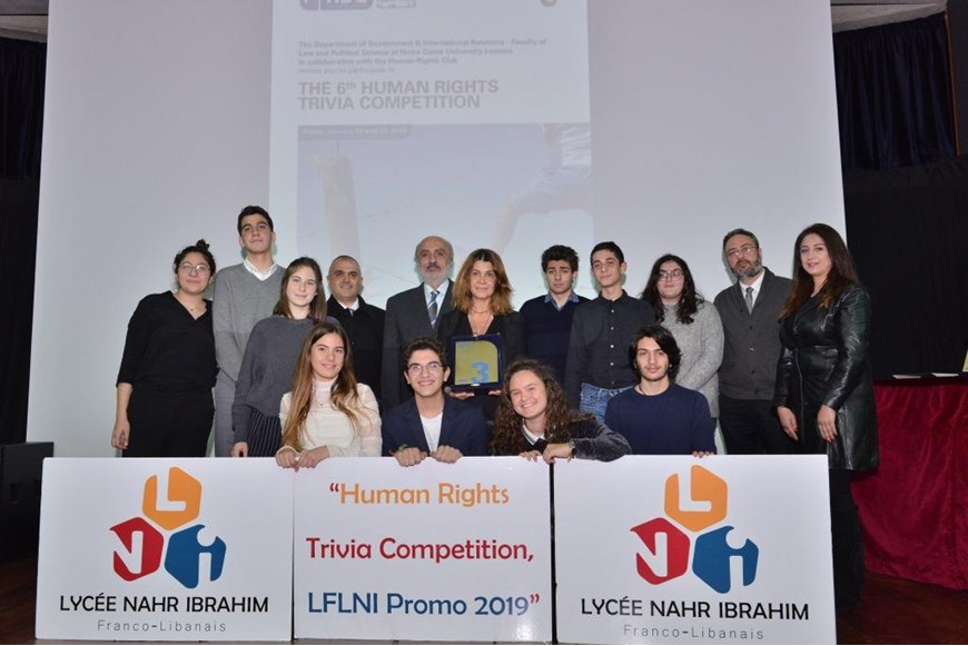 The 6th Human Rights Trivia Competition 20