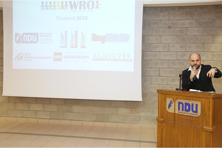 WRO Launched at NDU 12