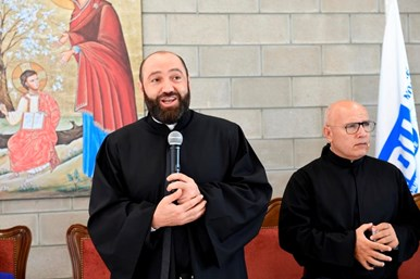 Fr. Pierre Najem's Congratulatory Visits