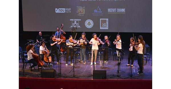 NDU Hosts LeBam Jazz Workshop 61