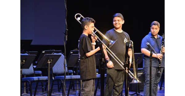 NDU Hosts LeBam Jazz Workshop 91