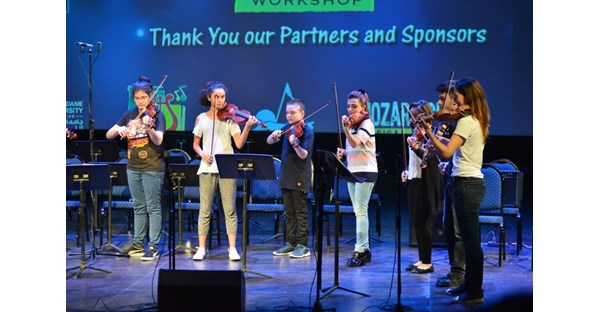NDU Hosts LeBam Jazz Workshop 112