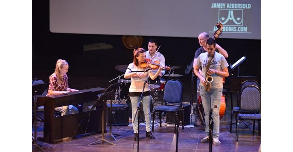 NDU Hosts LeBam Jazz Workshop 123